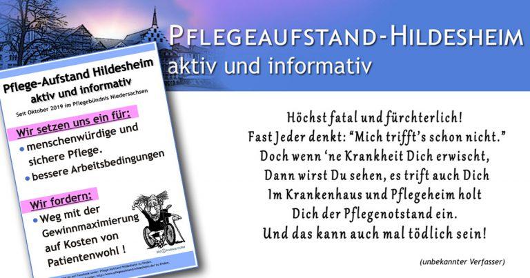 Pflegeaufstand Hildesheim