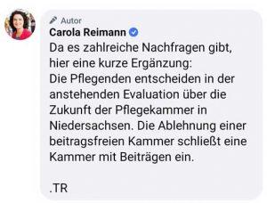 Fr. Reimann zur Vollbefragung